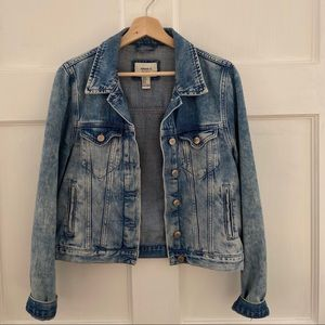 Denim Jacket acid wash